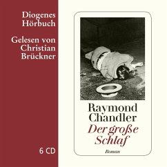 Der große Schlaf, 6 Audio-CDs - Chandler, Raymond