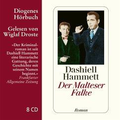 Der Malteser Falke, 8 Audio-CDs - Hammett, Dashiell