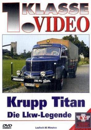 krupp titan die lkw legende auf dvd portofrei bei b. Black Bedroom Furniture Sets. Home Design Ideas