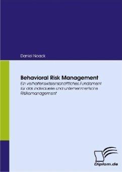 Behavioral Risk Management - Noack, Daniel