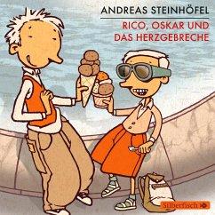 Rico, Oskar und das Herzgebreche / Rico & Oskar Bd.2, 4 Audio-CDs - Steinhöfel, Andreas