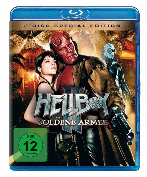 hellboy ii die goldene armee dvd film auf blu ray. Black Bedroom Furniture Sets. Home Design Ideas