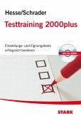 Testtraining 2000plus, m. CD-ROM - Hesse, Jürgen; Schrader, Hans-Christian