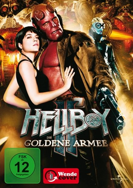 Hellboy II - Die goldene Armee (Einzel-DVD) - Ron Perlman,Selma Blair,Doug Jones