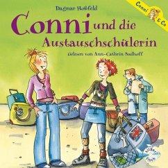 Conni und die Austauschschülerin / Conni & Co Bd.3 (2 Audio-CDs) - Hoßfeld, Dagmar
