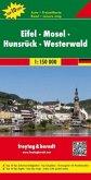 Freytag & Berndt Autokarte Eifel, Mosel, Hunsrück, Westerwald; Eifel, Mosela, Hunsrück, Westerwald; Eifel, Moezel, Hunsr