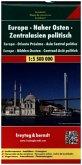 Europa - Naher Osten - Zentralasien 1 : 5 500 000 politisch. Autokarte