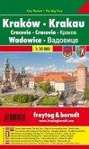 Freytag & Berndt Stadtplan Krakau, Wadowice; Krakow, Wadowice; Cracovie, Wadowice. Cracovia, Wadowice. Krakov, Wadowice.