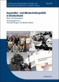 Aussiedler- und Minderheitenpolitik in Deutschland - Bergner, Christoph / Weber, Matthias (Hrsg.)