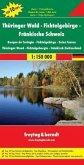 Thüringer Wald - Fichtelgebirge - Fränkische Schweiz 1 : 150 000