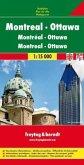 Freytag & Berndt Stadtplan Montreal, Ottawa