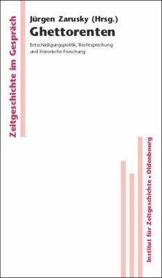 Ghettorenten - Zarusky, Jürgen (Hrsg.)