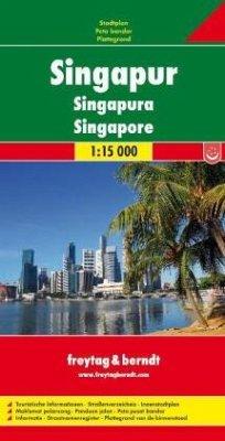 Freytag & Berndt Stadtplan Singapur; Singapura; Singapore; Singapour