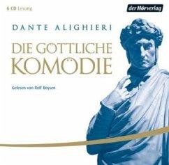 Die Göttliche Komödie, 6 Audio-CDs - Dante Alighieri