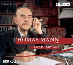 Tonio Kröger, 3 Audio-CDs - Mann, Thomas