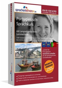 Portugiesisch-Basiskurs, PC CD-ROM m. MP3-Audio-CD