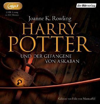 (3) Harry Potter Und Der Gefangene Von Askaban-Mp3 - Felix Von Manteuffel