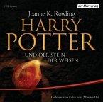 Harry Potter und der Stein der Weisen, 9 Audio-CDs (Ausgabe für Erwachsene)