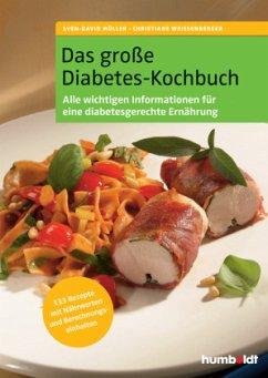 Das große Diabetes-Kochbuch - Müller, Sven-David;Weißenberger, Christiane