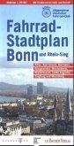 Fahrradstadtplan Bonn / Rhein-Sieg 1 : 20 000