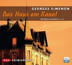 Das Haus am Kanal, Audio-CD - Simenon, Georges