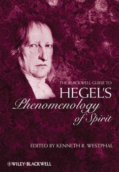 The Blackwell Guide to Hegel's Phenomenology of Spirit