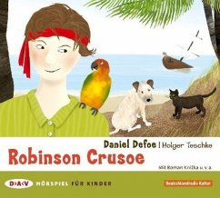 Robinson Crusoe, 1 Audio-CD - Defoe, Daniel