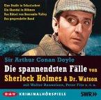 Die spannendsten Fälle von Sherlock Holmes & Dr. Watson, 5 Audio-CDs
