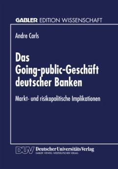 Das Going-public-Geschäft deutscher Banken