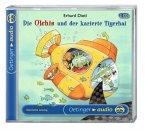 Die Olchis und der karierte Tigerhai / Die Olchis-Kinderroman Bd.3, 2 Audio-CDs