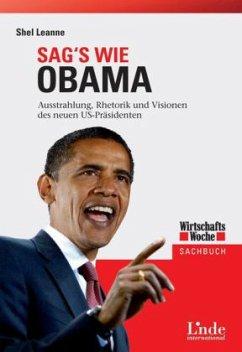 Sag's wie Obama - Leanne, Shel