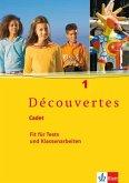 Découvertes Cadet 1. Fit für Tests und Klassenarbeiten. Arbeitsheft mit Lösungen und Audio-CD