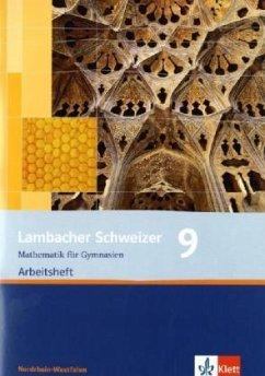 Lambacher Schweizer. 9. Schuljahr. Arbeitsheft plus Lösungsheft. Nordrhein-Westfalen.