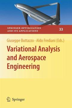 Variational Analysis and Aerospace Engineering - Buttazzo, Giuseppe; Frediani, Aldo