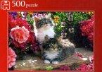 Jumbo Spiele - 13042 - Katzen im Blumengarten