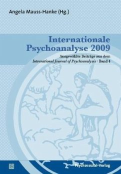 Internationale Psychoanalyse 2009 - Mauss-Hanke, Angela