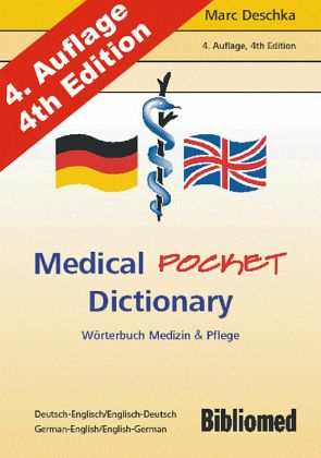 Medical pocket dictionary w rterbuch medizin und pflege for Dictionary englisch deutsch