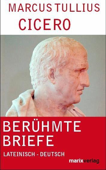 Briefe Von Cicero : Berühmte briefe von cicero buch bücher