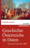 Von der Urzeit bis 1804 / Geschichte Österreichs in Daten