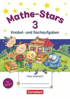 Mathe-Stars 3. Schuljahr - Übungsheft / Mathe-Stars Knobel- und Sachaufgaben Bd.3 - Hatt, Werner; Kobr, Stefan; Kobr, Ursula; Plankl, Elisabeth; Pütz, Beatrix