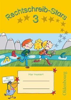 Rechtschreib-Stars 3. Schuljahr. Übungsheft - Duscher, Sandra; Petz, Ulrich; Schmidt, Irmgard