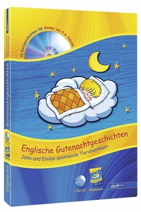 Englische Gutenachtgeschichten für die Vorschule, 1 Audio-CD