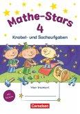 Mathe-Stars 4. Schuljahr - Übungsheft / Mathe-Stars Knobel- und Sachaufgaben Bd.4