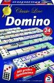 Schmidt 49207 - Classic Line: Domino mit großen Spielsteinen