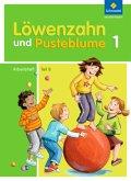 Löwenzahn und Pusteblume. Leselernbuch B. Arbeitsheft