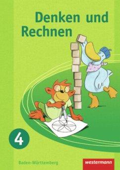 Denken und Rechnen 4. Schülerband. Grundschule. Baden-Württemberg
