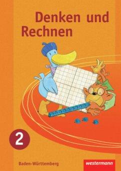 Denken und Rechnen 2. Schülerband. Grundschule. Baden-Württemberg