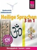 Reise Know-How Kauderwelsch Heilige Sprachen 3 in 1