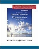An Introduction to Object-Oriented Programming with Java (Int'l Ed)