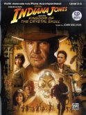 Indiana Jones and the Kingdom of the Crystal Skull, w. Audio-CD, for Violin and Piano Accompaniment